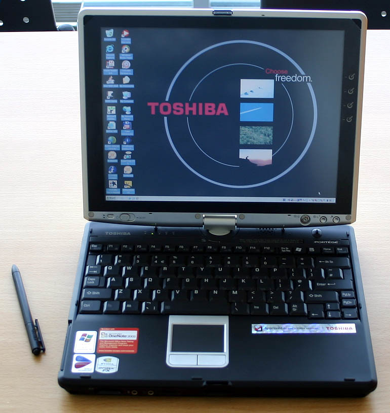 My First Tablet PC - A Toshiba Portégé M200